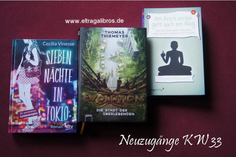 Neue Bücher KW 33 (2016)